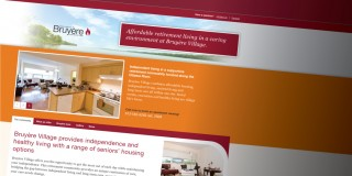 Bruyre Village Branding and Website