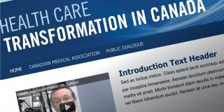 CMA Health Care Tranformation Website