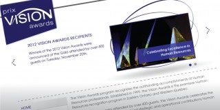 Vision Awards Branding and Website Redesign