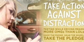 Allstate Canada blows the whistle on distracted driving in 2011