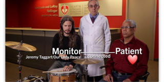 Making Canadians aware of a health risk using a rock star and video